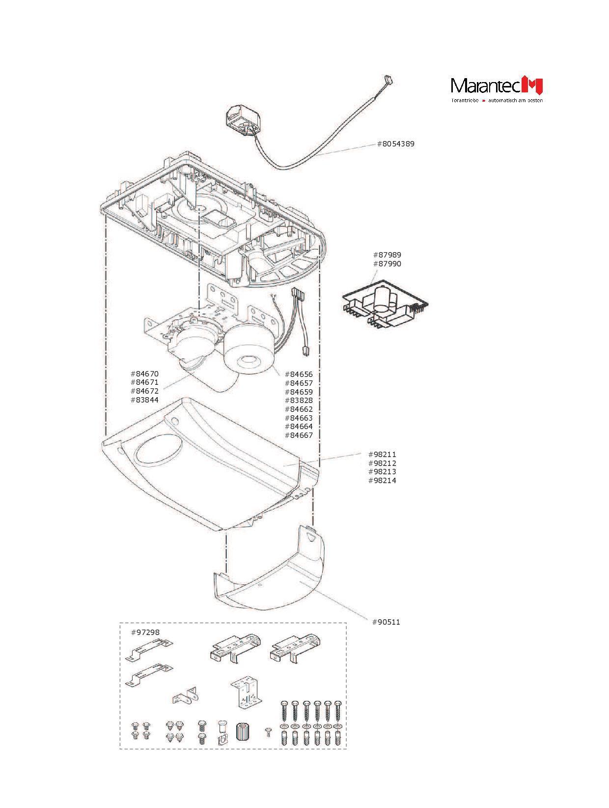 Marantec Ersatzteil Trafo Comfort 250 2 Gb