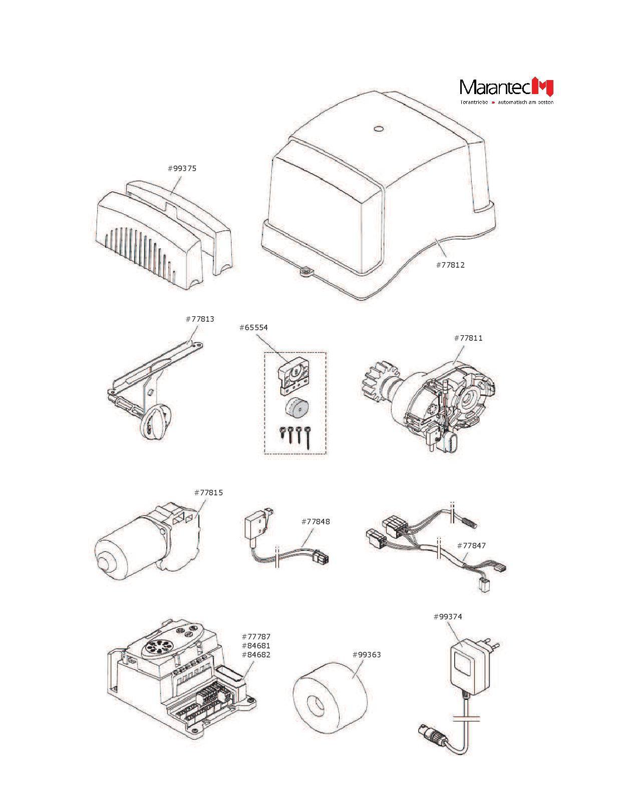 Ersatz Ersatzentriegelungseinheit F R Marantec Comfort 870