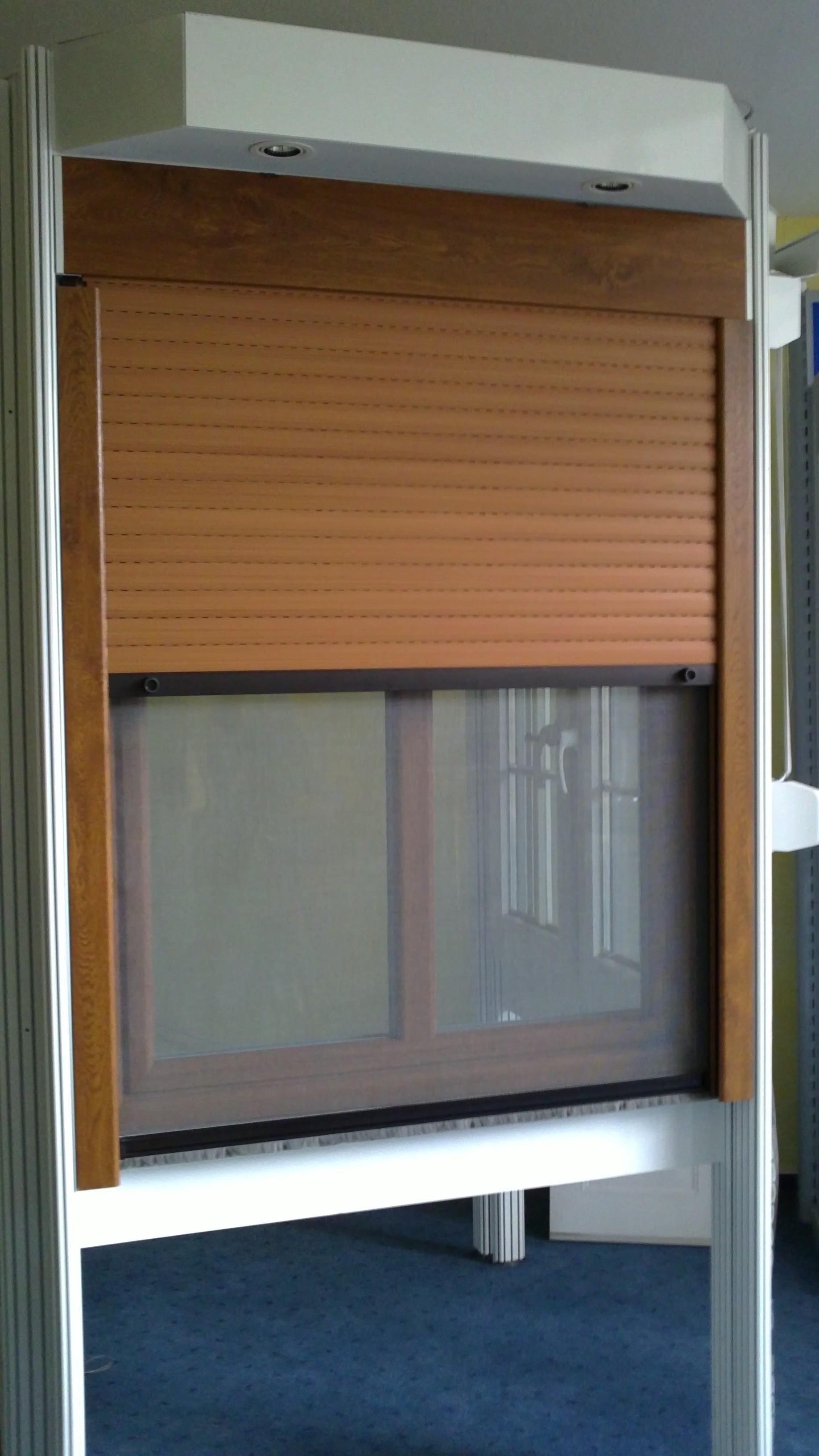Fenster Mit Rolladen Und Insektenschutz ~ Sprossenfenster