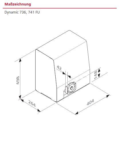 marantec dynamic 736 schiebetorantrieb f r schwere tore. Black Bedroom Furniture Sets. Home Design Ideas